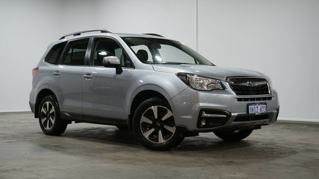 Used Subaru Forester S4 MY18 2.0D-L CVT AWD Welshpool, 2018 Subaru Forester S4 MY18 2.0D-L CVT AWD Ice Silver Metallic 7 Speed Constant Variable Wagon