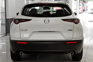 2021 Mazda CX-30 DM2WLA G25 SKYACTIV-Drive Touring White 6 Speed Sports Automatic Wagon.