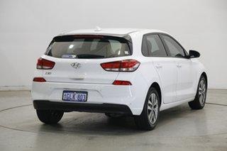 2017 Hyundai i30 PD MY18 Active Polar White 6 Speed Sports Automatic Hatchback