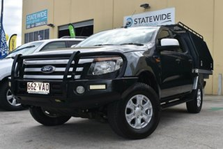2014 Ford Ranger PX XLS 3.2 (4x4) Grey 6 Speed Automatic Double Cab Pick Up.
