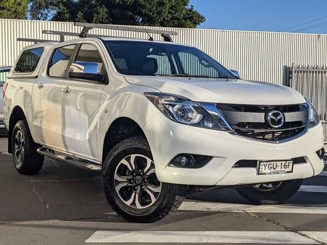 Used Mazda BT-50 UR0YG1 XTR 4x2 Hi-Rider Wollongong, 2017 Mazda BT-50 UR0YG1 XTR 4x2 Hi-Rider Cool White 6 Speed Sports Automatic Utility
