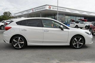 2017 Subaru Impreza G5 MY17 2.0i-S CVT AWD Pearl White 7 Speed Constant Variable Hatchback.