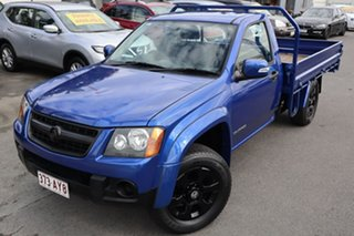 2009 Holden Colorado RC MY09 LX 4x2 Blue 4 Speed Automatic Cab Chassis.