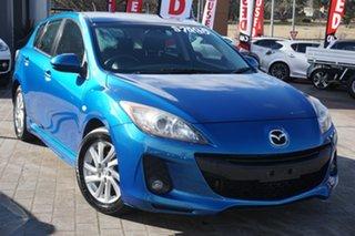 2011 Mazda 3 BL10F1 MY10 Maxx Sport Blue 6 Speed Manual Hatchback.