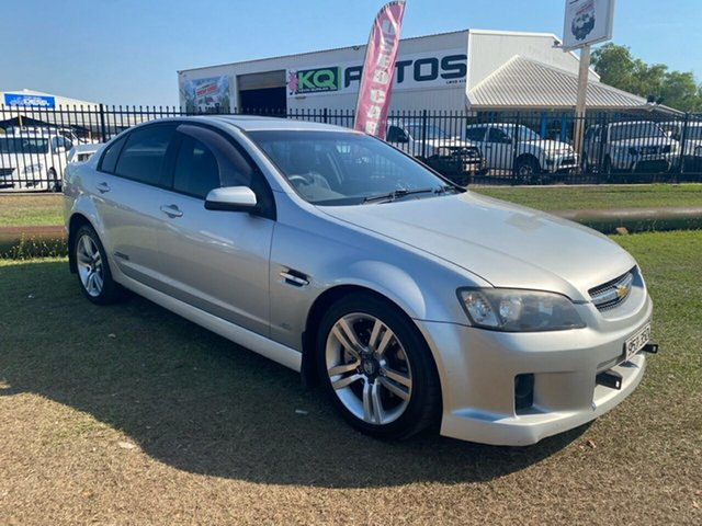 Used Holden Commodore VE SS Berrimah, 2006 Holden Commodore VE SS Silver 6 Speed Sports Automatic Sedan