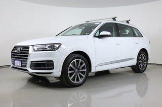 2015 Audi Q7 4M 3.0 TDI Quattro White 8 Speed Automatic Tiptronic Wagon.