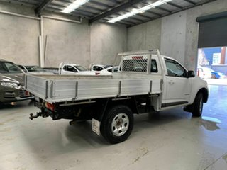 2014 Holden Colorado RG MY14 LX 4x2 White 6 Speed Manual Cab Chassis