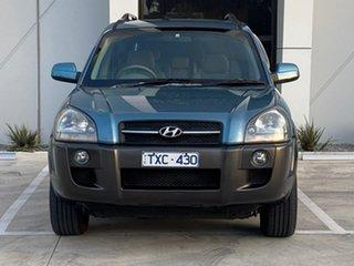 2005 Hyundai Tucson JM Elite Blue 4 Speed Sports Automatic Wagon.