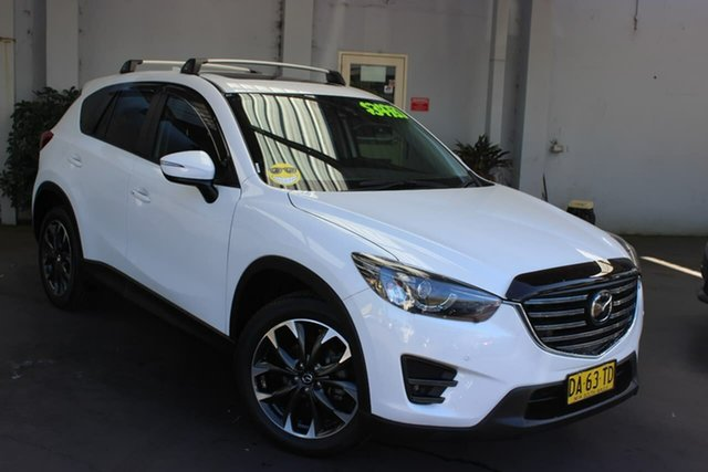 Used Mazda CX-5 KE1032 Akera SKYACTIV-Drive i-ACTIV AWD Waitara, 2017 Mazda CX-5 KE1032 Akera SKYACTIV-Drive i-ACTIV AWD White 6 Speed Sports Automatic Wagon