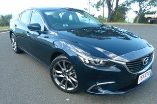 2017 Mazda 6 GL1031 GT SKYACTIV-Drive Blue 6 Speed Sports Automatic Sedan.