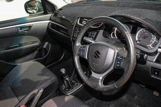 2014 Suzuki Swift FZ MY14 GL White 5 Speed Manual Hatchback