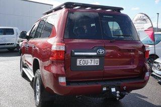 2018 Toyota Landcruiser VDJ200R GX Red 6 Speed Sports Automatic Wagon