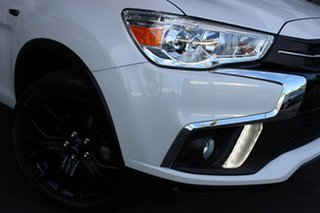 2019 Mitsubishi ASX XC MY19 Black Edition 2WD White 1 Speed Constant Variable Wagon.