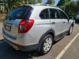 2009 Holden Captiva CG MY09 LX AWD Silver 5 Speed Sports Automatic Wagon.
