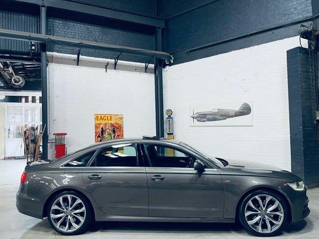 Used Audi A6 4G MY13 S Tronic Quattro Port Melbourne, 2012 Audi A6 4G MY13 S Tronic Quattro Grey 7 Speed Sports Automatic Dual Clutch Sedan