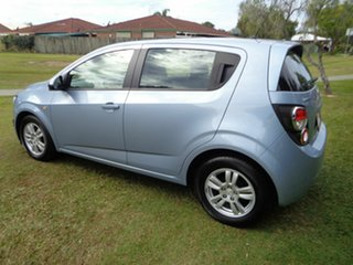 2012 Holden Barina TM MY13 CD Silver 6 Speed Automatic Hatchback