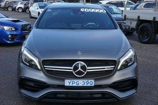 2018 Mercedes-Benz A-Class W176 808+058MY A45 AMG SPEEDSHIFT DCT 4MATIC Grey 7 Speed.