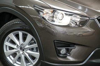 2017 Mazda CX-5 KE1032 Maxx SKYACTIV-Drive i-ACTIV AWD Sport Bronze 6 Speed Sports Automatic Wagon.