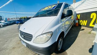 2006 Mercedes-Benz Vito 639 115CDI Low Roof Comp White 5 Speed Automatic Van