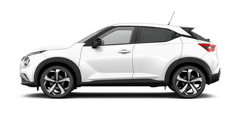 2021 Nissan Juke F16 ST-L DCT 2WD Arctic White 7 Speed Sports Automatic Dual Clutch Hatchback