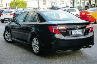 2013 Toyota Camry ASV50R Atara SX Black 6 Speed Sports Automatic Sedan.