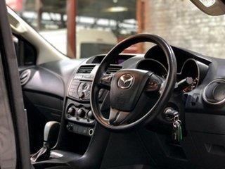 2017 Mazda BT-50 UR0YG1 XT Freestyle 4x2 Hi-Rider Black 6 Speed Sports Automatic Cab Chassis