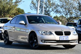 2012 BMW 3 Series E92 MY11 320d Steptronic Gold 6 Speed Sports Automatic Coupe.