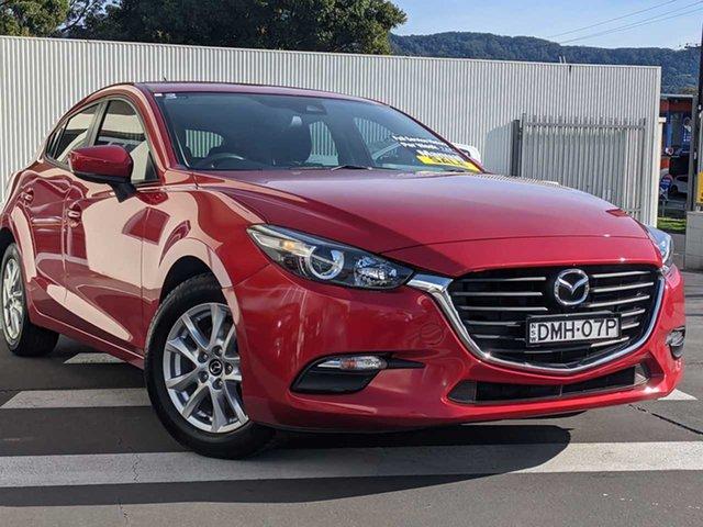 Used Mazda 3 BN5476 Neo SKYACTIV-MT Wollongong, 2016 Mazda 3 BN5476 Neo SKYACTIV-MT Soul Red 6 Speed Manual Hatchback