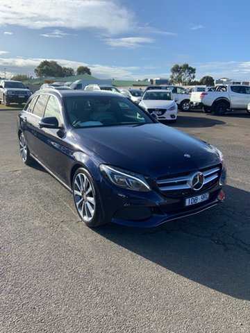 Used Mercedes-Benz C-Class S205 C250 Estate 7G-Tronic + Warrnambool East, 2014 Mercedes-Benz C-Class S205 C250 Estate 7G-Tronic + Blue 7 Speed Sports Automatic Wagon