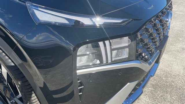 New Hyundai Santa Fe Tm.v3 MY21 Elite DCT Moorooka, 2021 Hyundai Santa Fe Tm.v3 MY21 Elite DCT Phantom Black Pearl 8 Speed Sports Automatic Dual Clutch