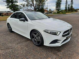 2021 Mercedes-Benz A-Class V177 801+051MY A180 DCT Digital White 7 Speed.