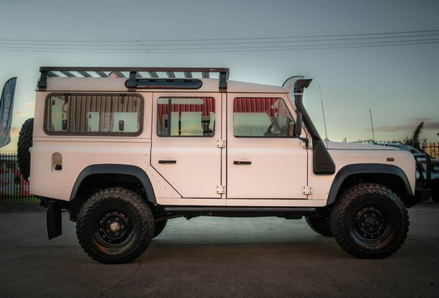Used Land Rover Defender 110 Rutherford, 1999 Land Rover Defender 110 White 5 Speed Manual Wagon