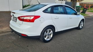 2012 Ford Focus LW MK2 Trend White 6 Speed Automatic Sedan