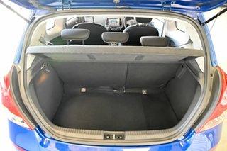 2015 Hyundai i20 PB MY15 Active Blue 4 Speed Automatic Hatchback
