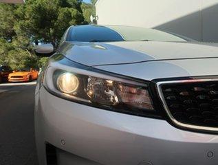 2017 Kia Cerato YD MY18 Sport Silver 6 Speed Sports Automatic Hatchback.
