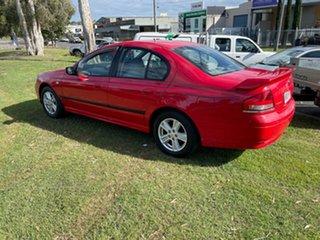 2002 Ford Falcon BA XT Red 4 Speed Sports Automatic Sedan