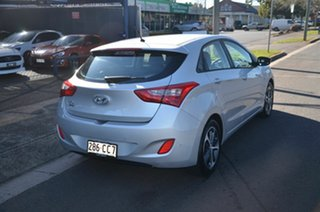 2016 Hyundai i30 GD4 Series 2 Active X Silver 6 Speed Automatic Hatchback.
