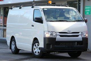 2018 Toyota HiAce KDH201R LWB French Vanilla 4 Speed Automatic Van.