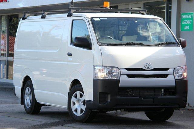 Pre-Owned Toyota HiAce KDH201R LWB Glen Waverley, 2018 Toyota HiAce KDH201R LWB French Vanilla 4 Speed Automatic Van