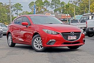 2014 Mazda 3 BM5478 Touring SKYACTIV-Drive Red 6 Speed Sports Automatic Hatchback.