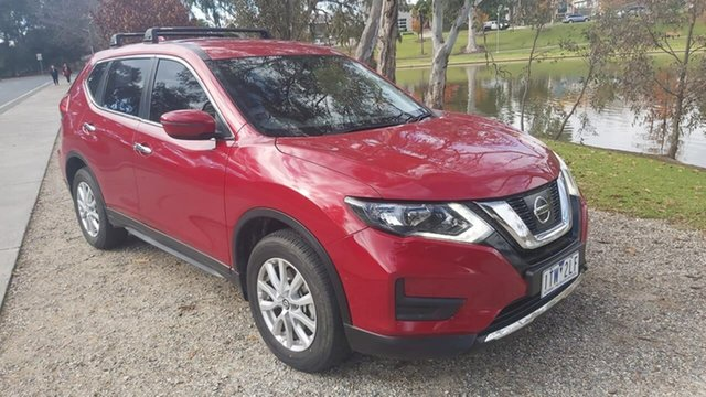 Used Nissan X-Trail T32 Series II TS X-tronic 4WD Wodonga, 2017 Nissan X-Trail T32 Series II TS X-tronic 4WD Red 7 Speed Constant Variable Wagon
