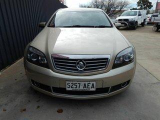 2009 Holden Statesman WM MY10 V6 Gold 6 Speed Automatic Sedan.