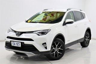 2016 Toyota RAV4 ALA49R GXL AWD White 6 Speed Sports Automatic Wagon.