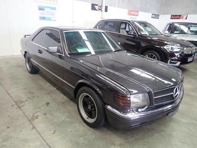 Used Mercedes-Benz 560 SEC Wangara, 1987 Mercedes-Benz 560 SEC Black Crystal 4 Speed Automatic Coupe