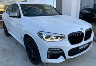 2018 BMW X4 G02 M40i Coupe Steptronic Alpine White 8 Speed Sports Automatic Wagon.
