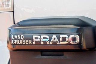 2010 Toyota Landcruiser Prado GRJ150R GXL Silver 5 Speed Sports Automatic Wagon