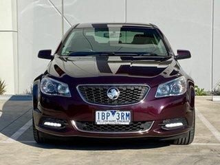 2013 Holden Commodore VF MY14 International Purple 6 Speed Sports Automatic Sedan.