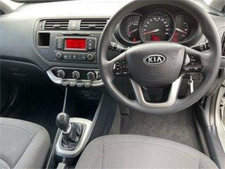 2012 Kia Rio UB S Silver 6 Speed Manual Hatchback