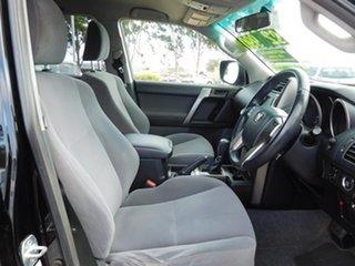 2011 Toyota Landcruiser Prado GRJ150R GXL Black 5 Speed Sports Automatic Wagon