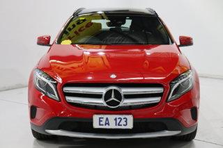 2016 Mercedes-Benz GLA-Class X156 806MY GLA180 DCT Red 7 Speed Sports Automatic Dual Clutch Wagon.